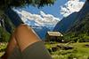 Visioni, e pensieri. (felice_) Tags: park trees parco lake mountains alps alberi clouds montagne trekking canon river lago nuvole fiume falls dslr alpi cascata sondrio canon1855mm valdimello