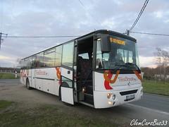 IRISBUS Axer - 6907 - Citram Aquitaine (Clément Quantin) Tags: irisbus axer 6907 ef473es citram aquitaine transgironde autocar interurbain