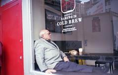 (David Chee) Tags: contax t2 carl zeiss sonnar kodak portra 160 newyork nyc chinatown canal cold brew street film analog