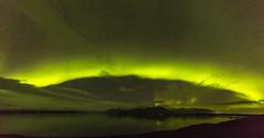 Aurora Ring (Nick L) Tags: iceland auroraborealis aurora landscape jökulsárlón jokulsarlon icelagoonatjokulsarlon green ice mountain mountains stars outdoor night reflection canon5d3 5d3 eos canon canonef1124f4l