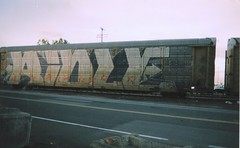 ridle (FUKWUTYAHEARD) Tags: train crew graff freight droids autorack wholecar ridle