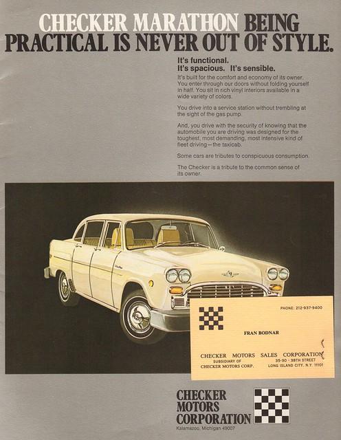 1980 Checker