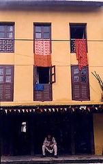 Street of Nepali Village