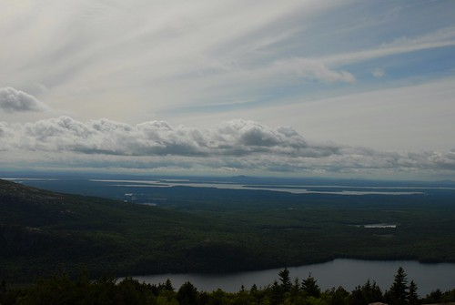 View from Cadillac Mountain Bar Harbor, Maine