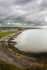 St Bees (Andy Stafford) Tags: clouds pebbles wainwright shore cumbria breakwater groynes stbees coasttocoast