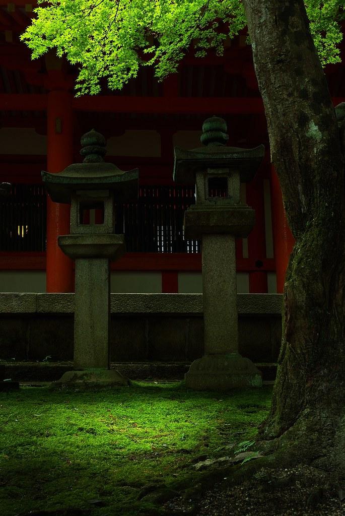 The Light at the Kasuga-Shrine