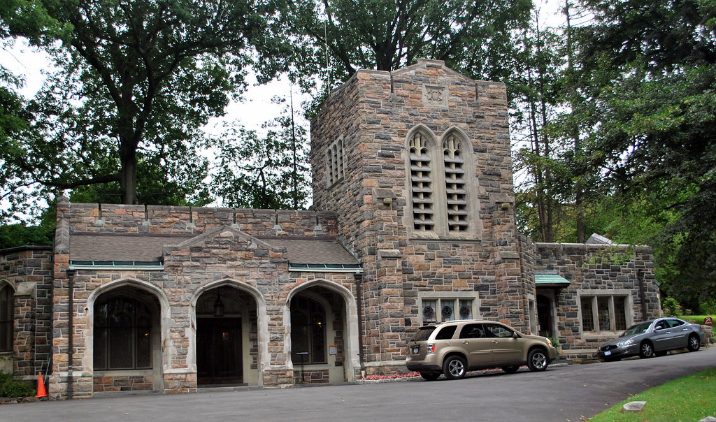 The Main Office at Sleepy Hollow Cemetery