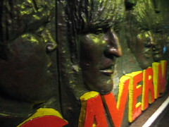 The Beatles Statue @ The Cavern Club, Matthew St. Liverpool, England (nikoretro) Tags: city uk travel summer england music tourism bar club li