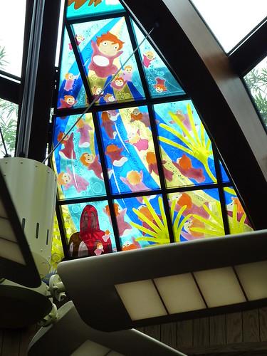 Ventanal museo Ghibli