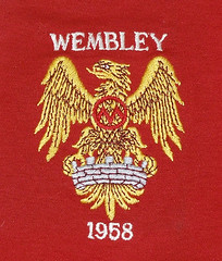 Manchester United 1958 FA Cup final badge