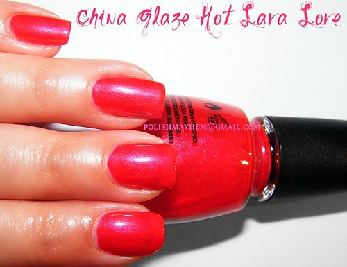 China Glaze Hot Lava Love