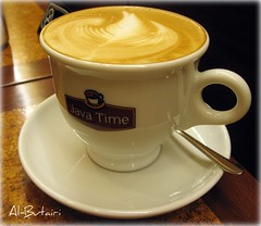 Java Time - Caff Latte (Abdullah Al-Butairi) Tags: coffee latte