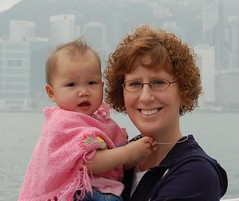 Caroline and me Hong Kong