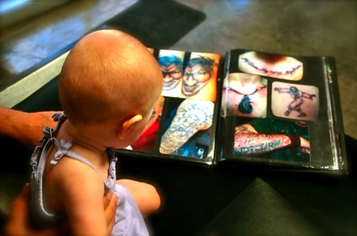 Tattoo - Zoey w book