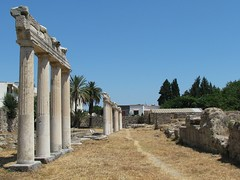 The ancient city of Kos