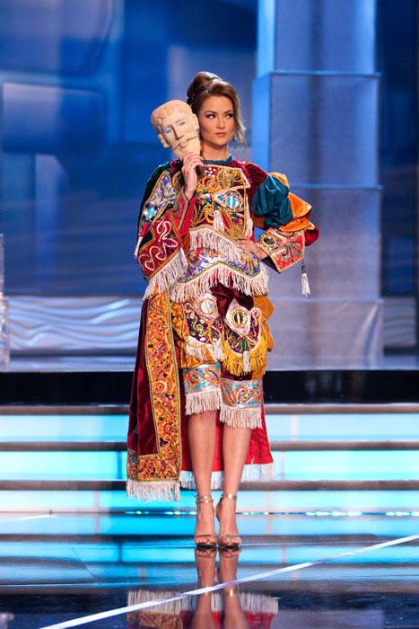 Traje Típico de Miss Guatemala