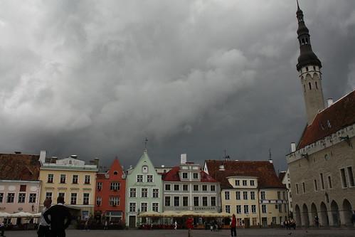 Tallinn, plaza del ayuntamiento