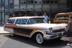 57 colony park mercury turnpike cruiser (bballchico) Tags: carshow seattle 1957 mercury colonypark turnpikecruiser stationwagon magniliacarshow2009 206 washingtonstate