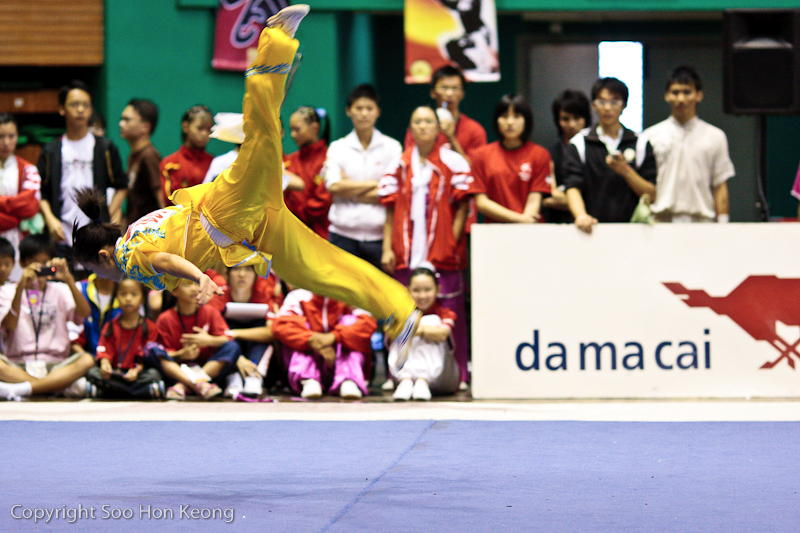 Wushu Performance (cycling) @ KL, Malaysia
