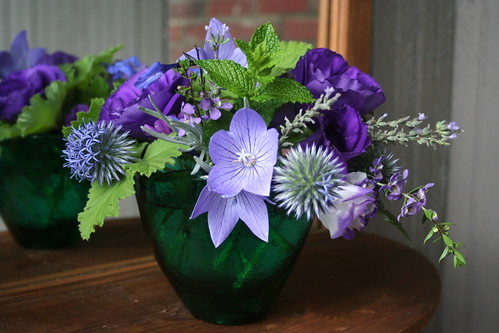 Blue, Violet and Green