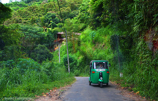 The nerrow road - Lanka