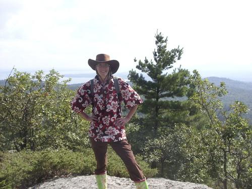 I climbed Coon Mountain.