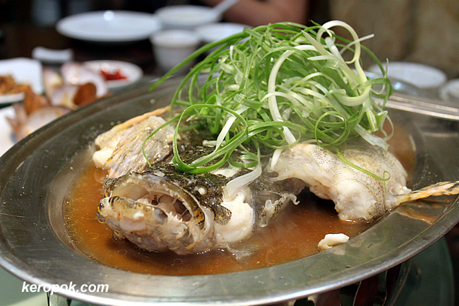 Steamed Soon Hock Fish
