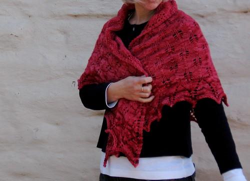 Shetland Triangle shawl for me