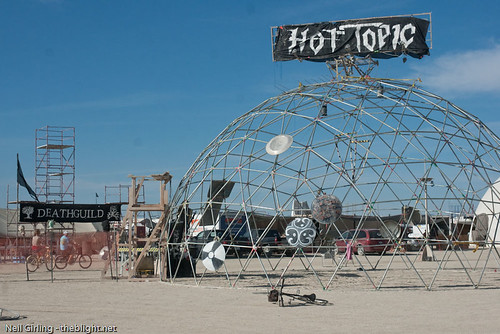 Deathguild Thunderdome at Burning Man 2009