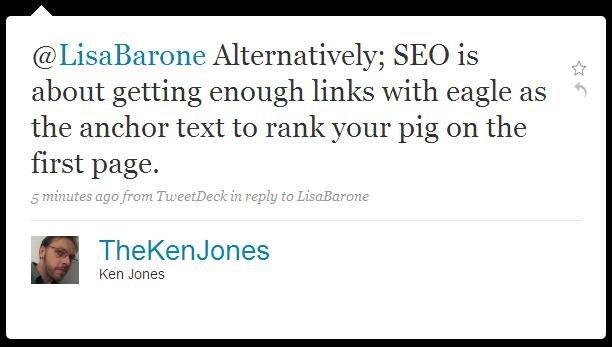 tweet by @thekenjones