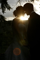 (About the Day Photography) Tags: lighting wedding light sunset love canon happy groom bride couple weddingday inlove
