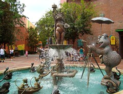 Hollywood Studios (DolceDanielle) Tags: world streets fountain america muppets disney hollywood studios walt dhs disneys