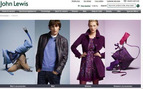 John Lewis fashion