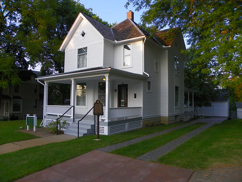 president Ronald Reagan house, Dixon IL