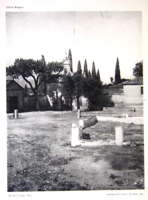 Cristo de la Vega a inicios del siglo XX. Foto Breal