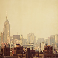 Urban legends (IrenaS) Tags: city nyc urban newyork skyline buildings manhattan empirestatebuilding bigapple wwwirenesuchockicom