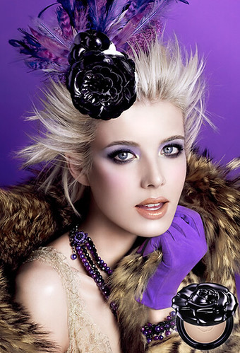 Agyness Deyn for Anna Sui Moisture Rich Foundation