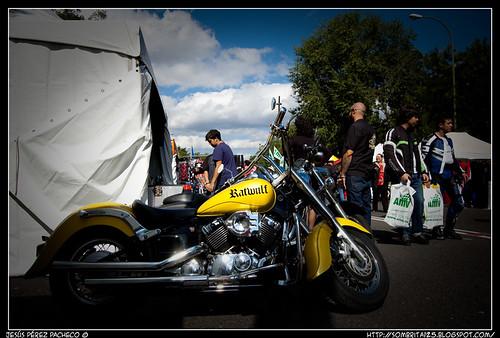 Fotos de la II Edición de Muevete por Madrid en Moto en el Paseo Camoens