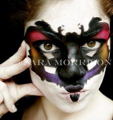 Rorschach Dream (Sara_Morrison) Tags: black rorschach blackmakeup colori nero psicologia psychology macchia macchiedirorschach