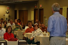 Rep. Thissen takes questions from the audience (ARRM) Tags: paul rep thissen