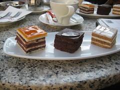 Im Café Gerbeaud