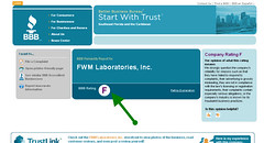 FWM LABS FLUNKS BBB RATING