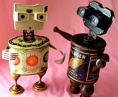 robot assemblage sculptures * BIANCA and GRANGER (Reclaim2Fame) Tags: sculpture metal vintage tin robot recycled assemblage mixedmedia etsy recycle foundobject tincan metalsculpture tinrobot humanfigure recycledmaterial robotsculpture vintageobjects robotcharacter willwagenaar