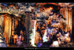 Inside the Cango Caves ::HDR:: (Tania Steffens | Photography :: Back on Track!) Tags: hdr photoshop photomatix cs3 cs4 tonemapped cangocaves oudtshoorn southafrica geotagged kleinkaroo stalactites sony a200 alpha caveformations
