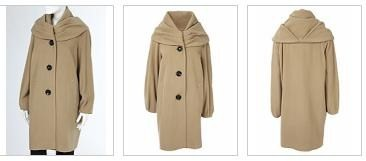Wallis camel coat