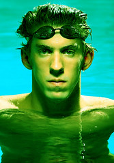 alien michael phelps