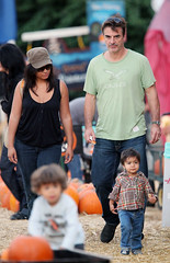 Chris Noth Pumpkin Picking With Orion (25 October 2009) (Det.Logan) Tags: chris noth