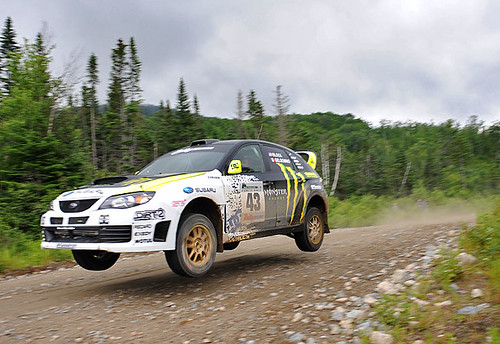 VIDEO // KEN BLOCK @ NEW ENGLAND FOREST RALLY