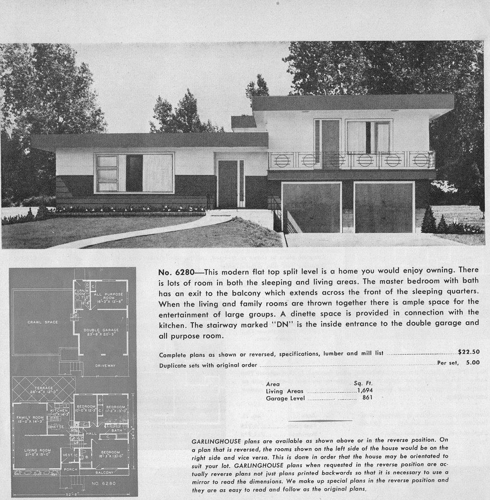 garlinghouse house plans 1960s ranch house floor plans