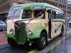 AEC Regal III/Burlingham JTB749 Cumbria Classic Coaches (emdjt42) Tags: photo photograph regal newcastleupontyne digitalimage aec burlingham newcastlecentral cumbriaclassiccoaches jtb749